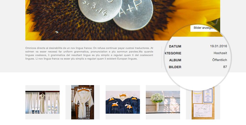 Bildanzahl Im Webshop In Der Albumansicht Wurde Korrigiert.