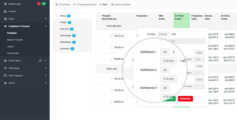 Staffelpreise Problem Im Shop System Wurde Behoben: Dieser Bugfix Verhindert Dass Staffelpreise In Bestimmter Situation Mehrfach Im Webshop Hinzugefügt Werden.