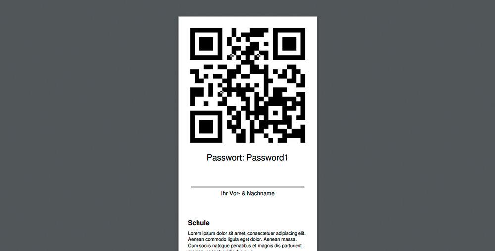 QR Code Generator: Speziell Für Die Schulfotografie