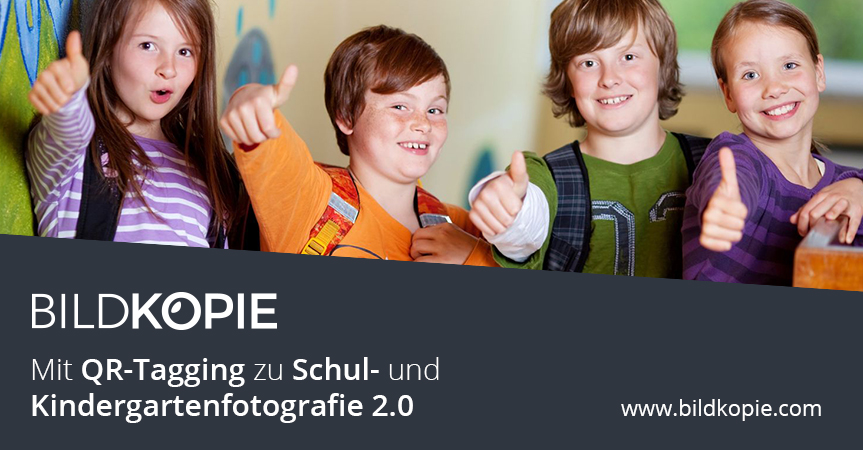 Mit QR-Tagging Zu Schul- Und Kindergartenfotografie 2.0