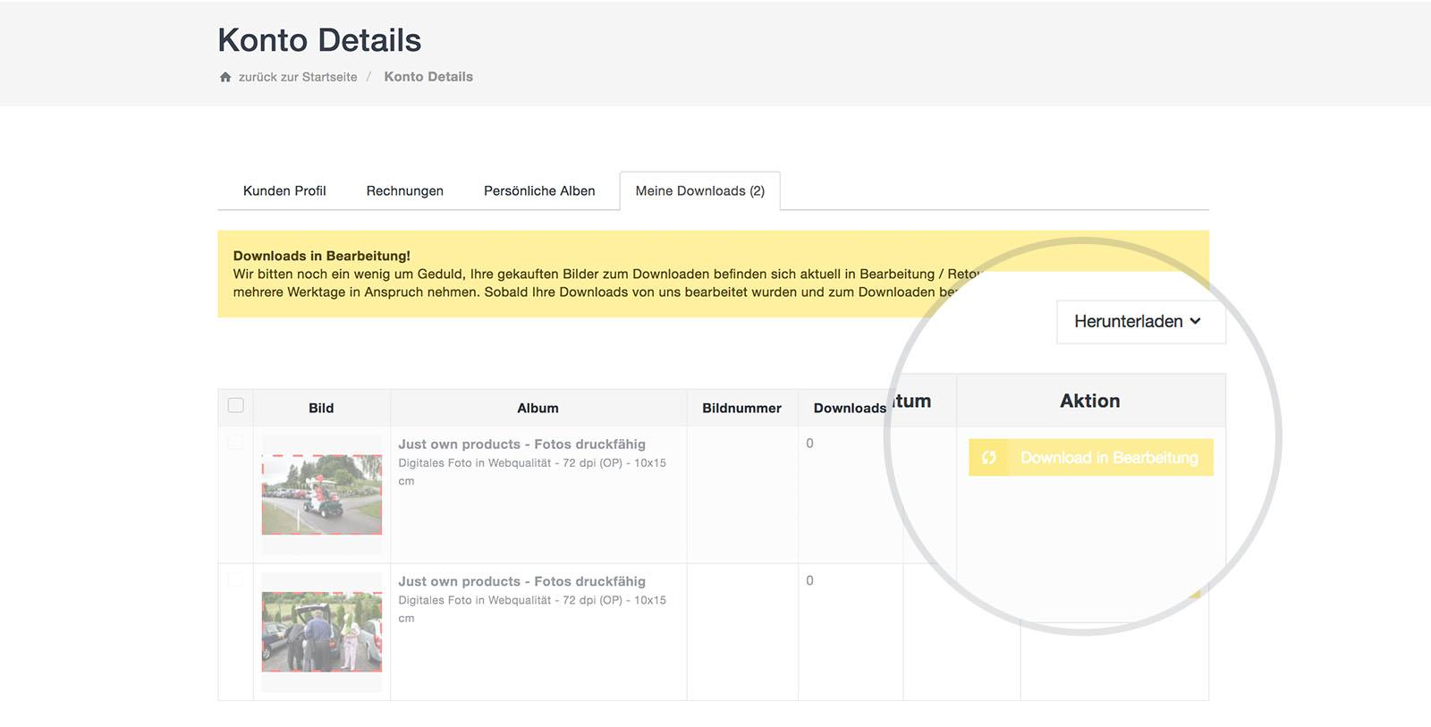 Bildkopie-photo-online-shop-fuer-fotografen-fotostudios-bilder-clever-onliner-verkaufen-11-kunden-downloadbereich-im-webshop-wurde-verstaendlicher-gestaltet