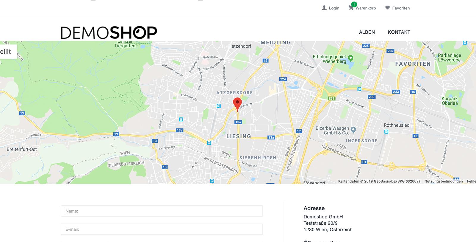 In Jedem Fotografen Webshop Werden Auf Der Kontaktseite Dynamische Landkarten Auf Basis Von Google Maps Angezeigt. Nachdem Google Die Technischen Anforderungen Geändert Hat Musste Die Einbindung In Unser Shopsystem Entsprechend Optimiert Werden.